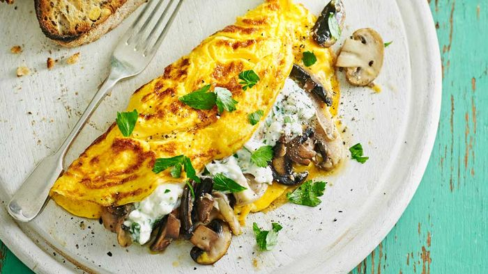"<a href=""http://kitchen.nine.com.au/2017/05/08/10/40/mushroom-and-parsley-cheese-omelette"" target=""_top"">Mushroom and parsley cheese omelette</a><br /> <br /> <a href=""http://kitchen.nine.com.au/2016/06/06/21/47/vegetarian-favourites-for-meatfreemonday"" target=""_top"">More meat-free dinners</a>"