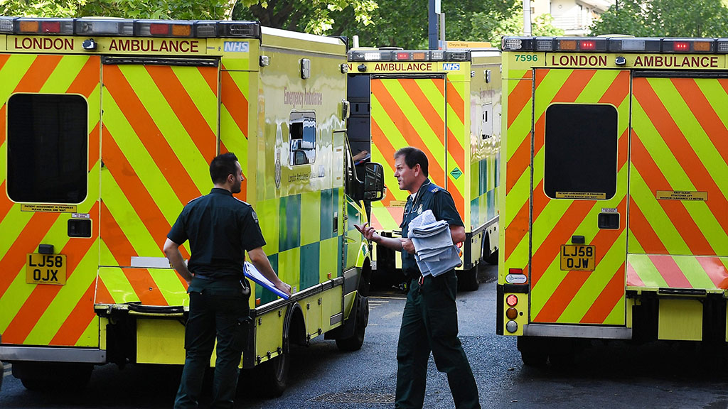 Hospitals and doctors' surgeries in parts of England were forced to turn away patients and cancel appointments. (AAP)