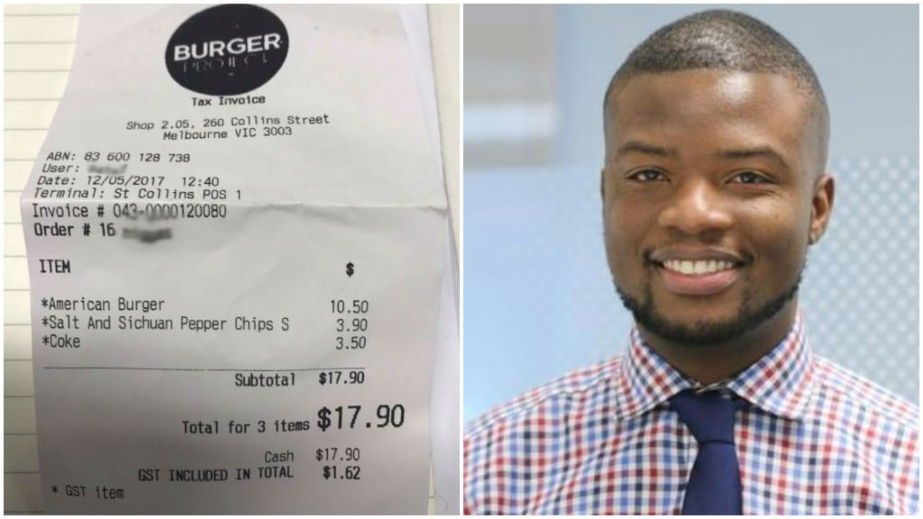 Acclaimed chef Neil Perry forced to personally apologise to customer given 'n----s' receipt
