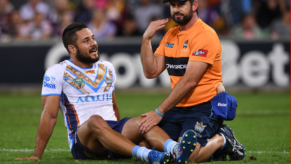 The night ended badly for NSW Origin hopeful Jarryd Hayne. (AAP)