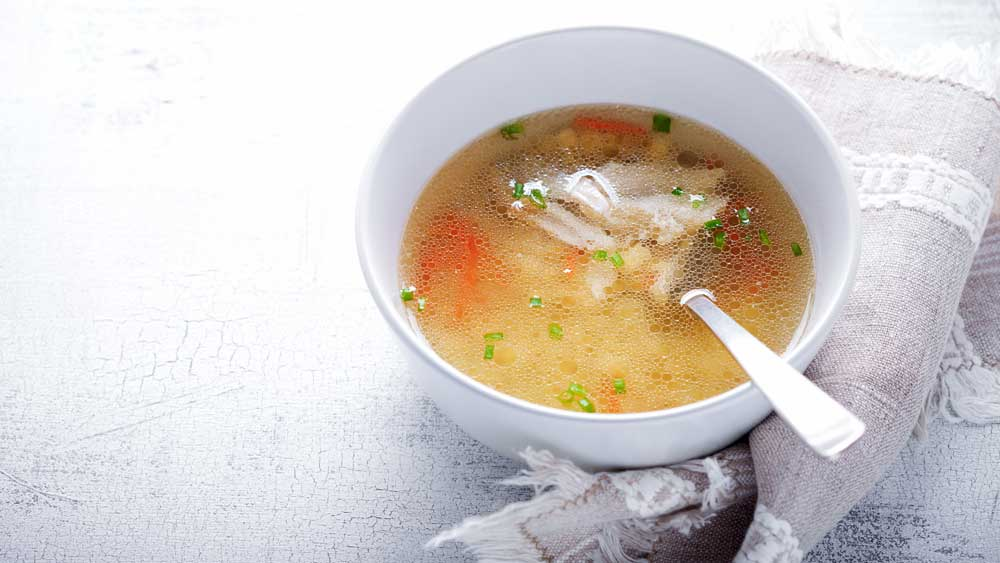 Susie Burrell's immune-boosting chicken and mushroom soup
