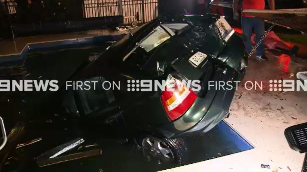 No one was injured in the crash. (9NEWS)