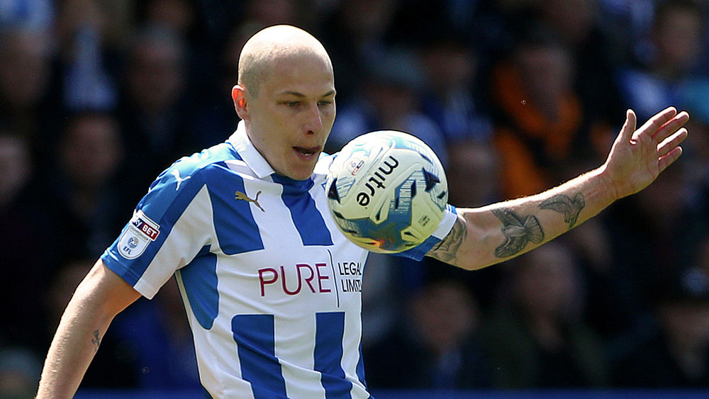 Aaron Mooy's Huddersfield Town held by Sheffield Wednesday in Championship playoff