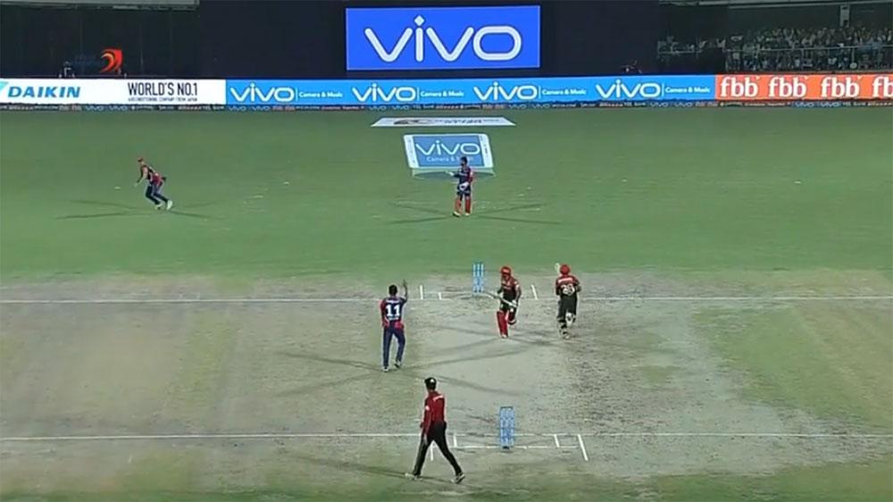 Pat Cummins makes incredible run out for Delhi Daredevils in IPL