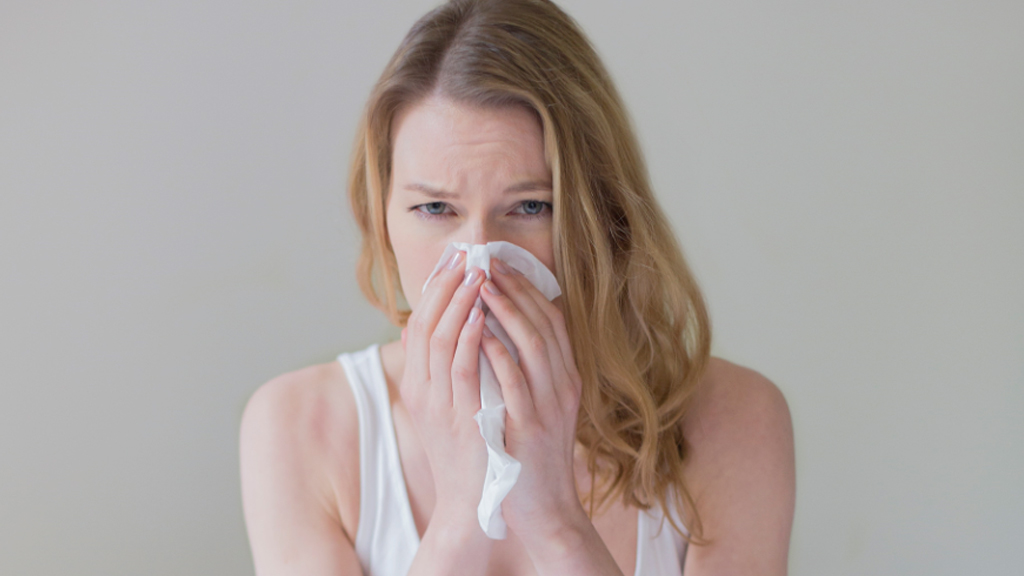 Seventeen percent of patients in a  heart attack study reported symptoms of respiratory infection within seven days of the attack. (AAP)