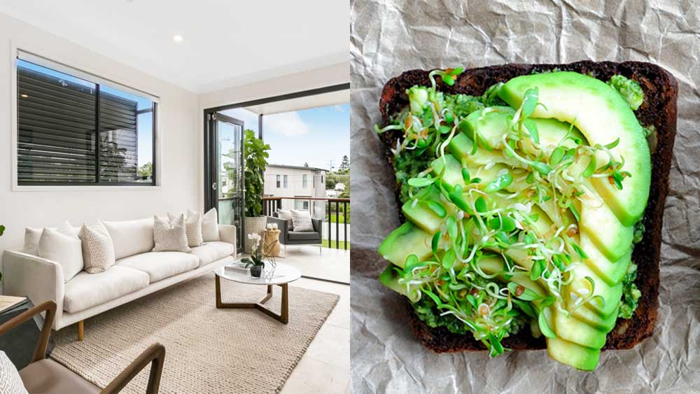 Brisbane townhouse comes with year supply of avocado toast