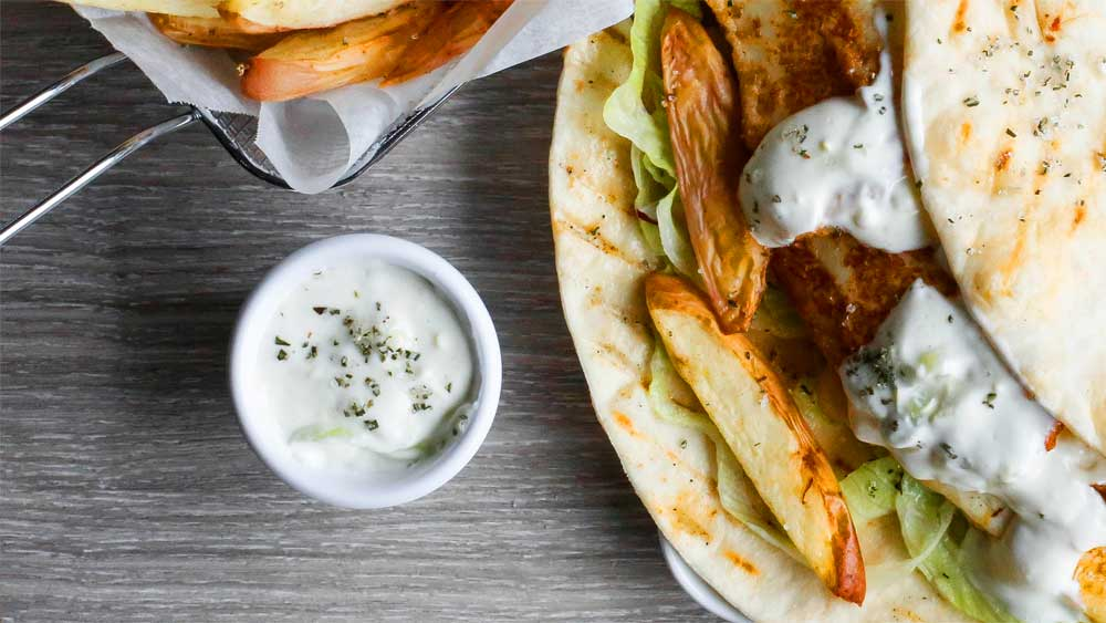 Easy basic tzatziki