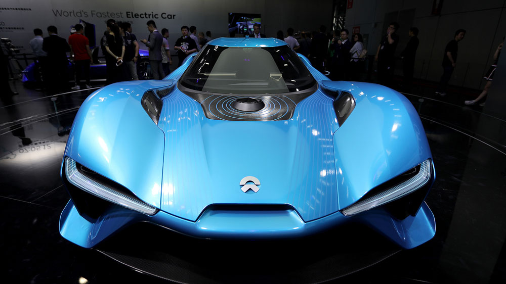 EP9 electric supercar to rival world's fastest cars