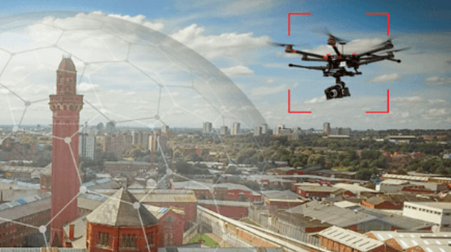 UK boasts word's first drone-proof jail