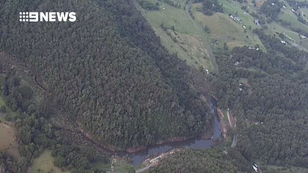 The plane was last seen taking off from Murwillumbah Aiport. (9NEWS)