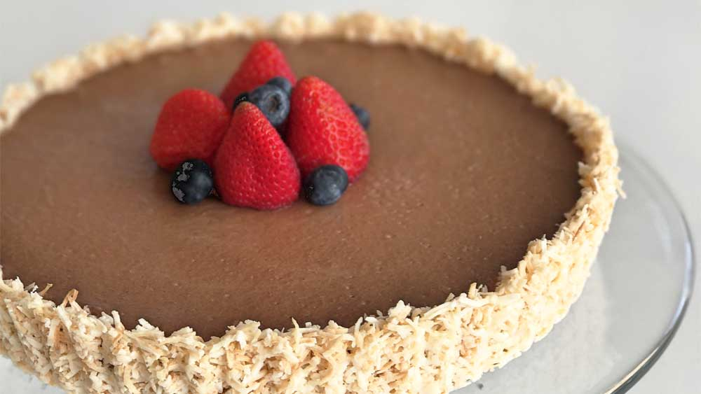 Dairy free chocolate tart recipe