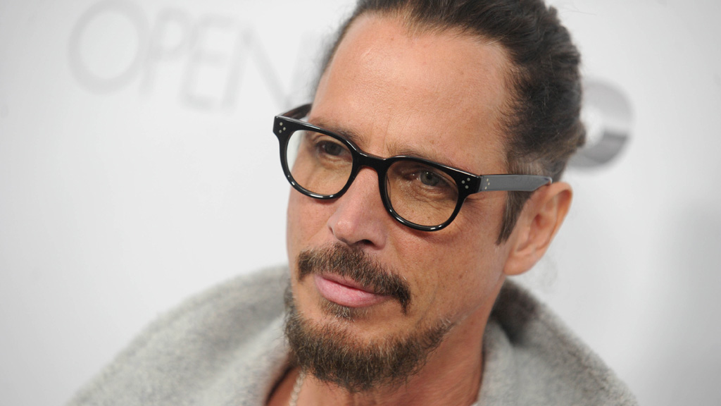 Chris Cornell at a film premiere in April. (AAP)
