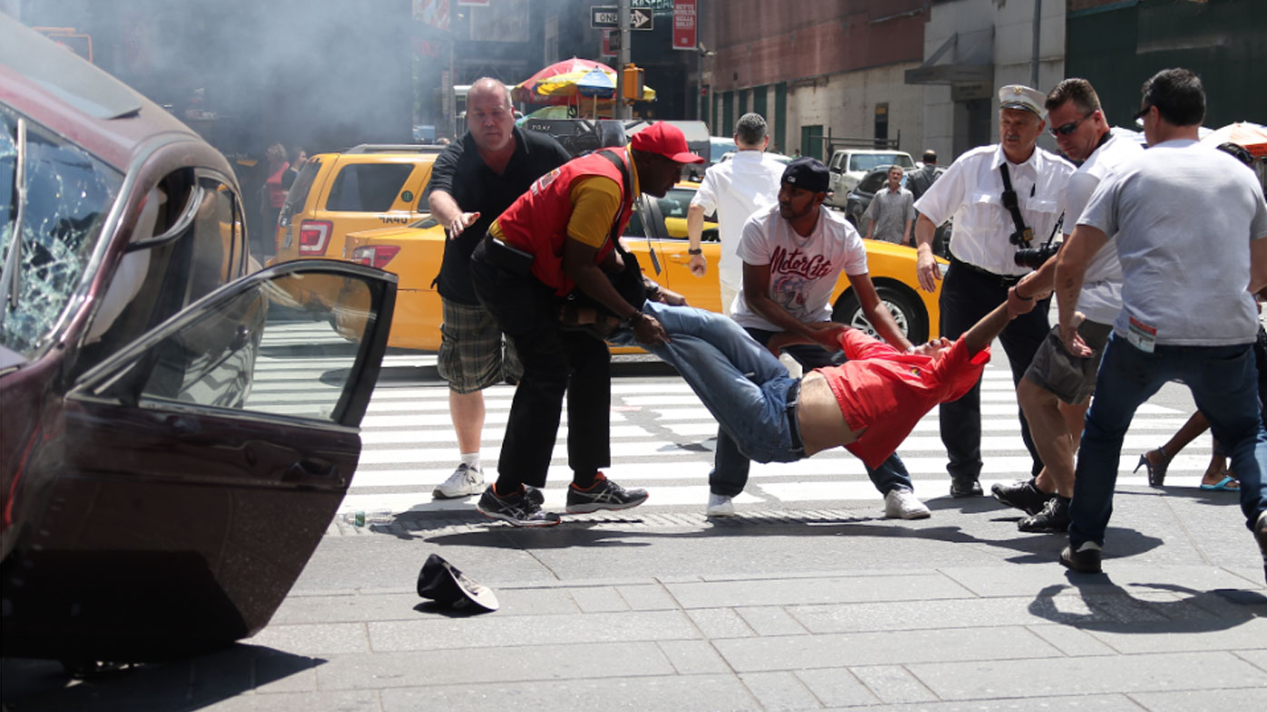 Richard Rojas was arrested in what New York police have called an intentional attack.