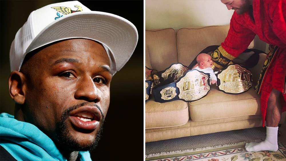 Conor McGregor baits Floyd Mayweather as negotiations for mega-bout reach fever pitch