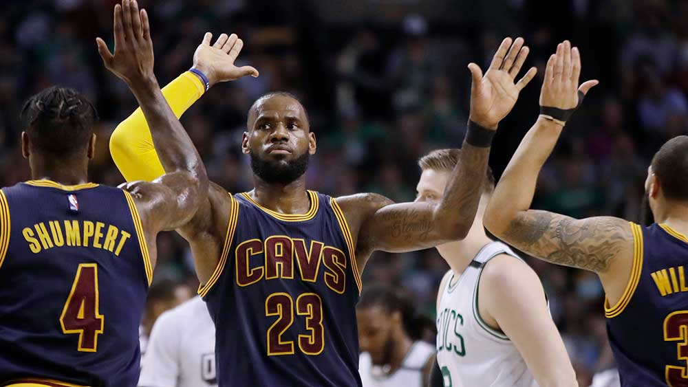 NBA: Cleveland Cavaliers thrash Boston Celtics in historic victory