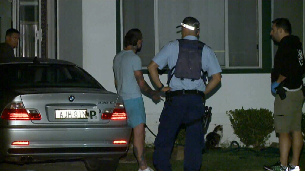 A man is assisting police with their inquiries. (9NEWS)