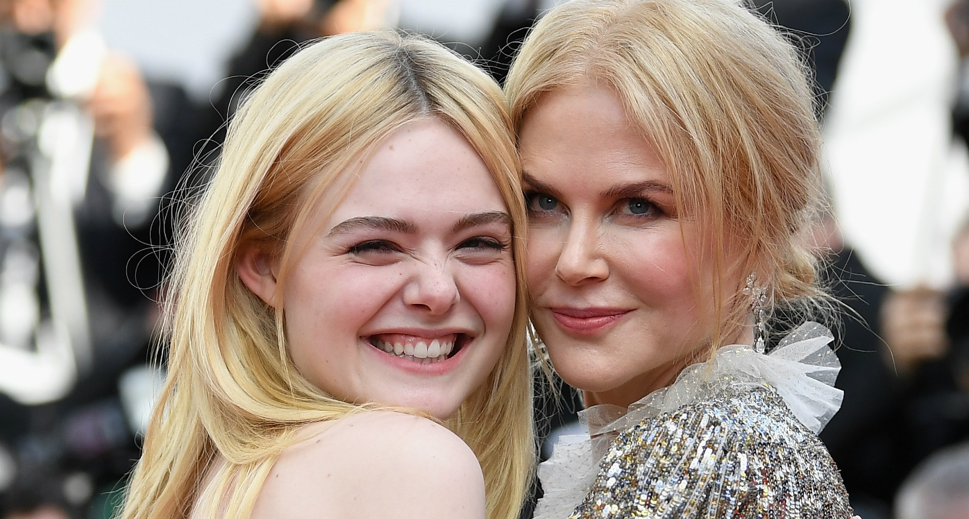 Behold, evidence Nicole Kidman and Elle Fanning are the BFFs we all need in our lives