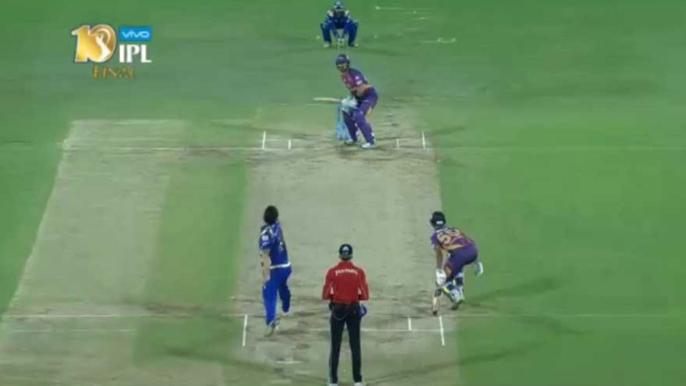 The IPL final came down to the last ball of the 20th over.
