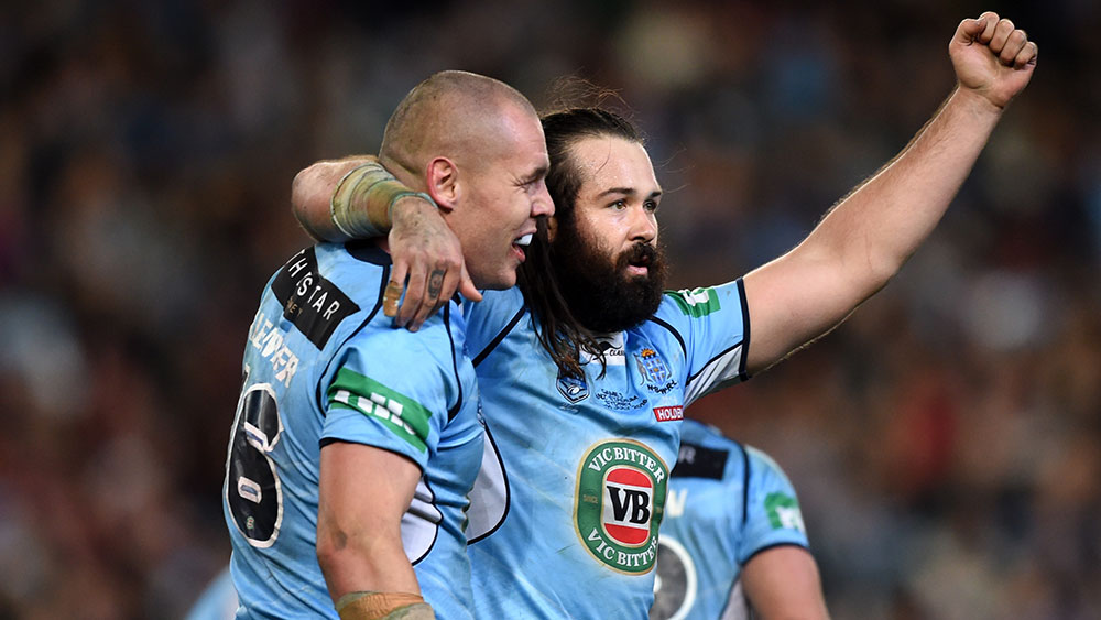 David Klemmer and Aaron Woods. (AAP)