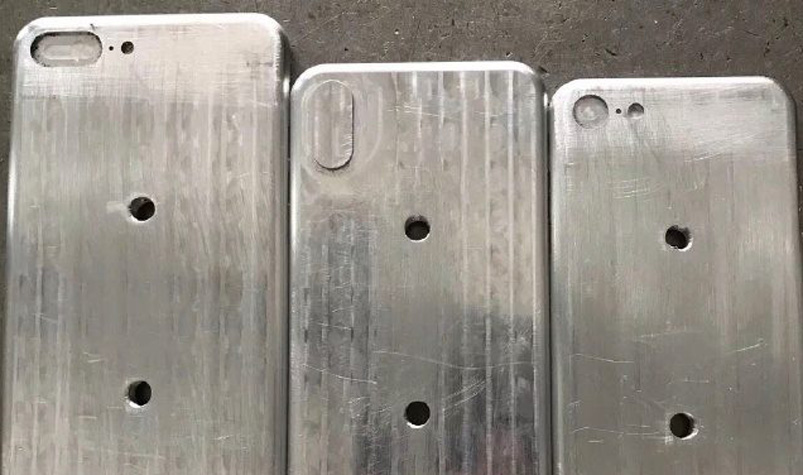 Leaked iPhone 8 molds reveal a slight downsize