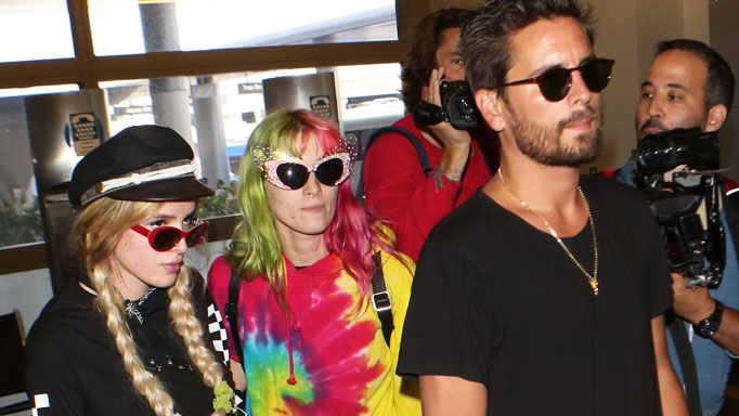 Scott Disick is en route to Cannes – with 19-year-old Bella Thorne in tow: See the photo