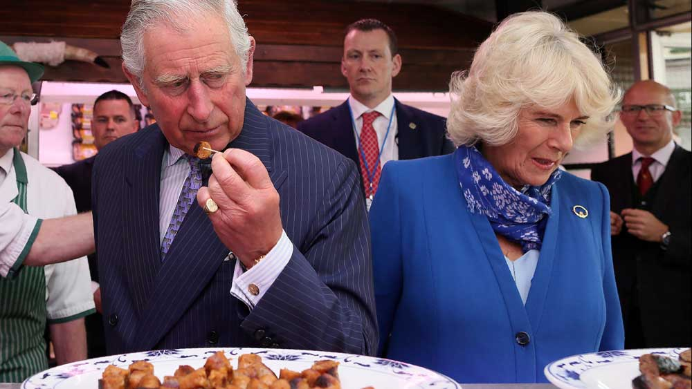Charles and Camilla. Getty Images