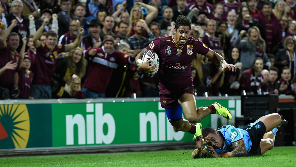 State of Origin GPS technology to track NSW and Queensland players for Channel Nine
