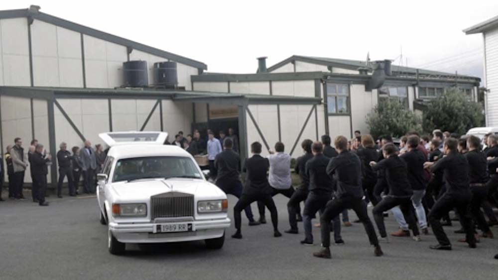 Wellington man farewelled with emotional haka after suffering head injury