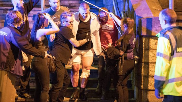Manchester Arena terror attack in pictures