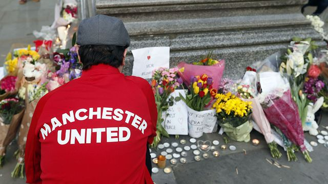 In pictures: Manchester unites at vigil attended by thousands
