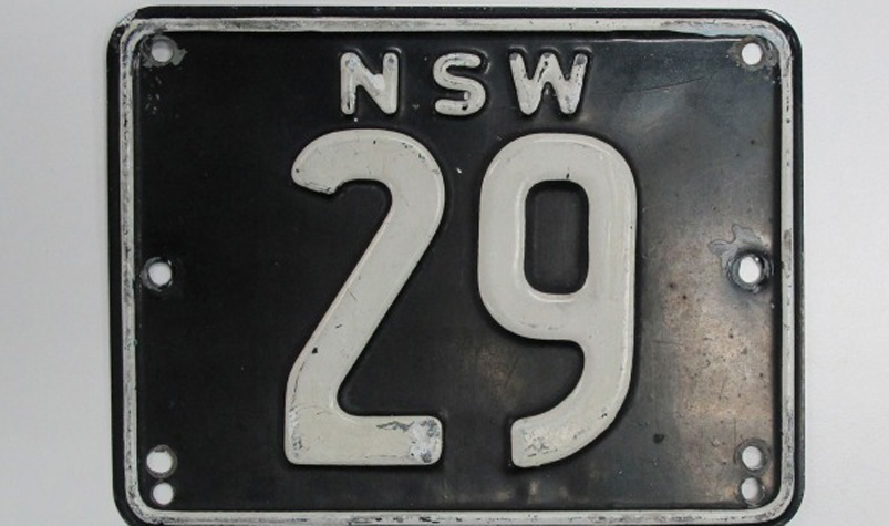 NSW '29' numberplate sells for $745,000