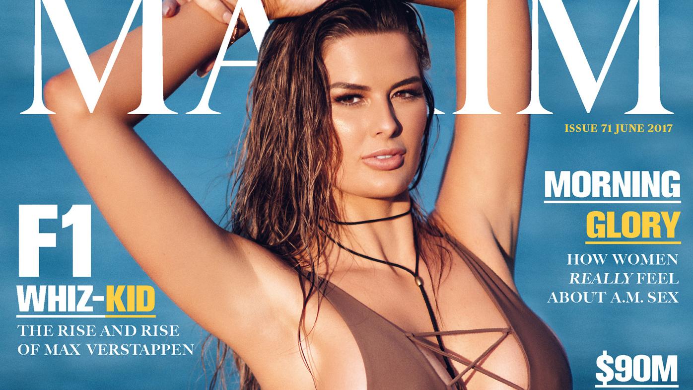 Cheryl Maitland Maxim Australia cover
