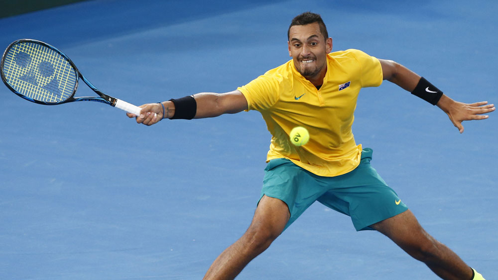 Australian tennis star Nick Kyrgios has missed out on a top-16 seeding at the French Open. (AAP)