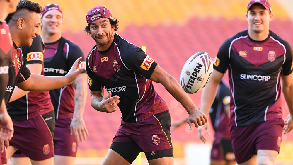 Johnathan Thurston has been ruled out of the State of Origin series opener. (AAP)