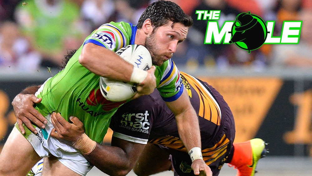 Canberra Raiders fullback Zac Santo is off to the Warriors with immediate effect. (Getty Images)