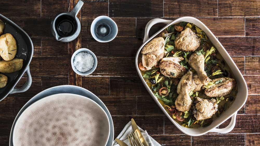 The Aviary's baked chicken casserole