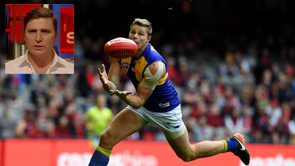 Shane Crawford says West Coast Eagles are 'flat track bullies'. (AAP)
