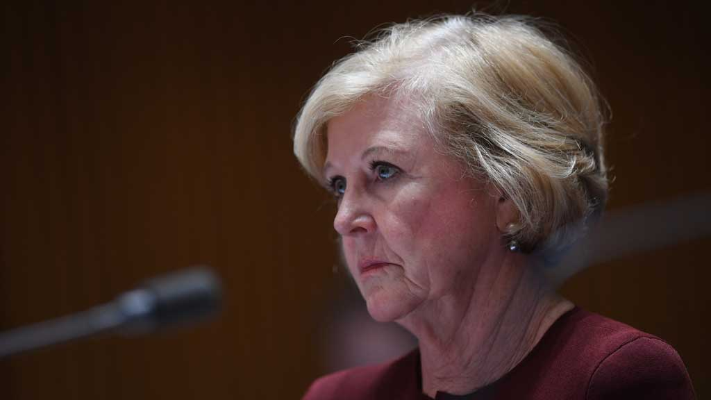 Gillian Triggs will depart the commission in July. (AAP)