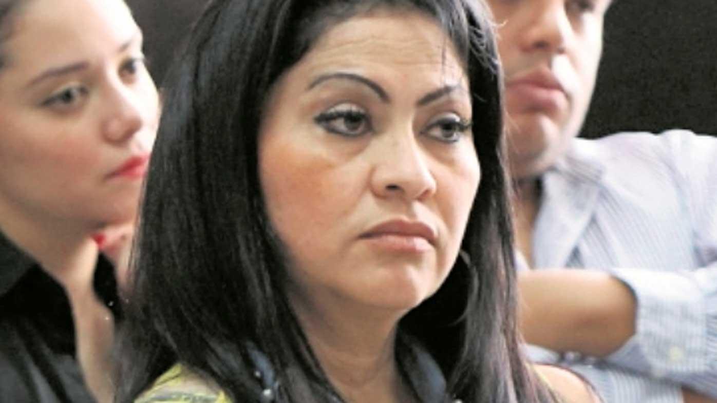 Marixa Lemus in court.