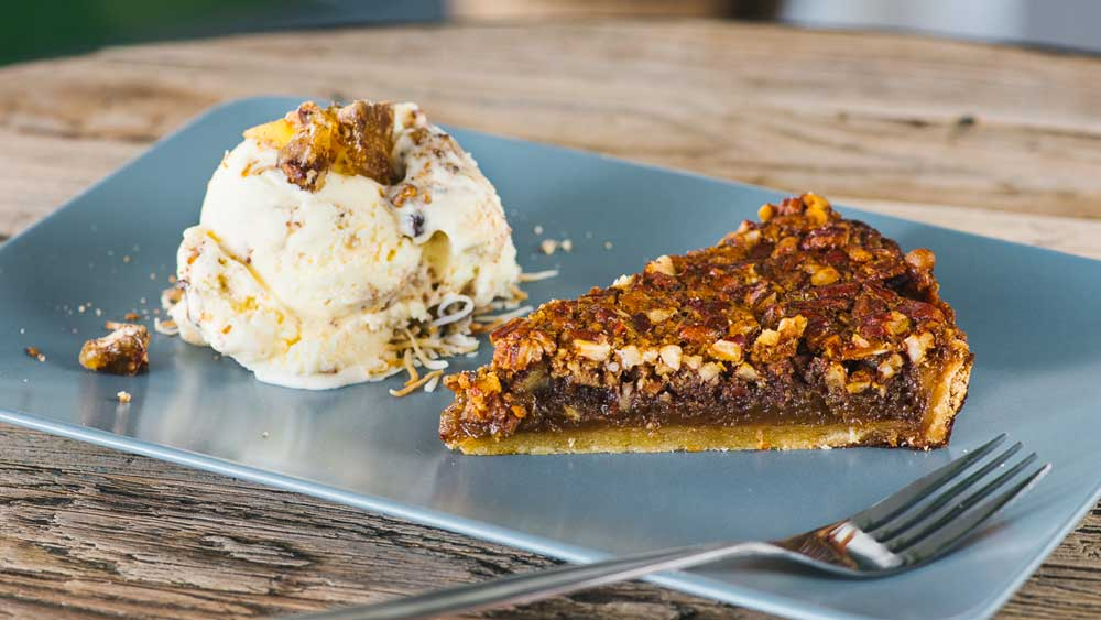 The Chippo Hotel's pecan pie