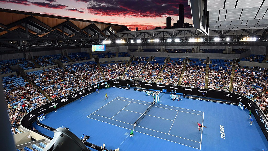Margaret Court Arena opened in 1988, and plays host to several matches during the Australian Open in Melbourne. (Getty)