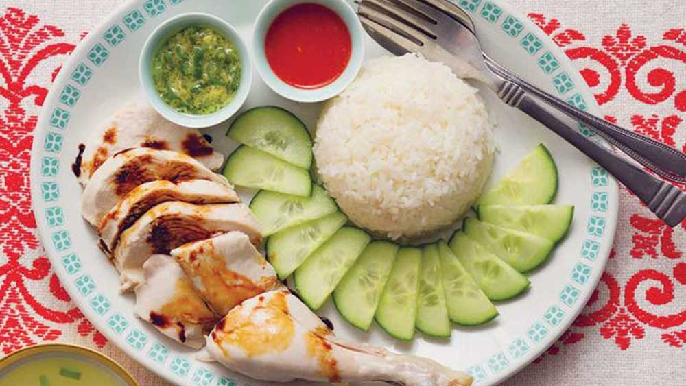 <strong>Poh's Hainanese chicken rice</strong>