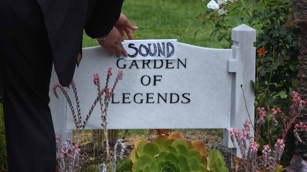 Cornell was the frontman of Soundgarden, (AFP)