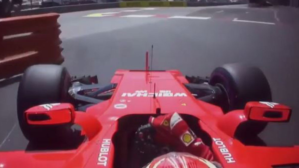Kimi Raikkonen was at his brilliant best while claiming pole position for the Monaco Grand Prix. (F1.com)