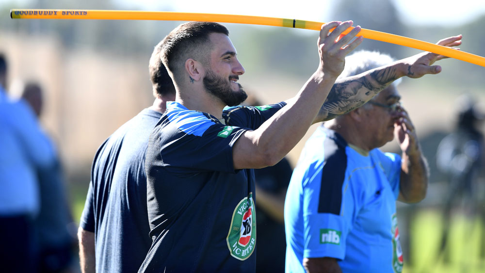 NSW Blues utility player Jack Bird is set to play at dummy-half in the Origin opener. (AAP)
