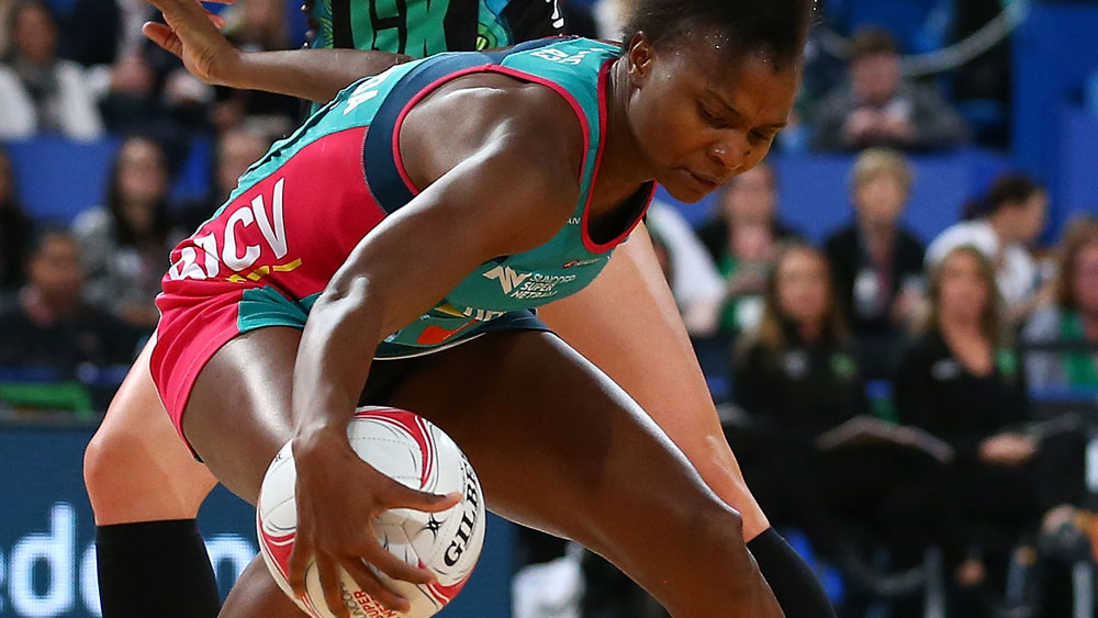 Melbourne Vixens star Mwai Kumwenda enjoyed another strong game. (Getty Images)