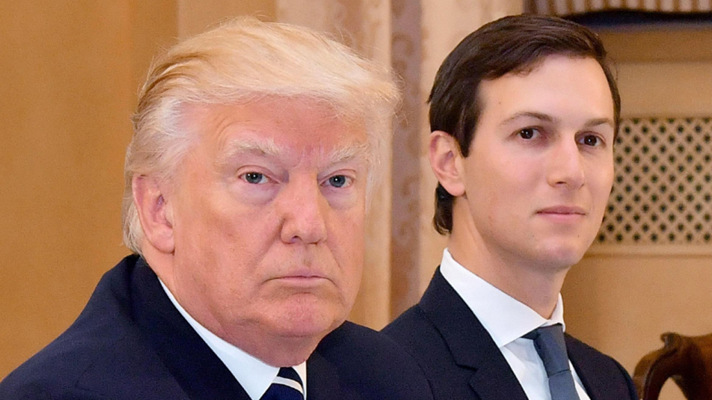 Donald Trump with Jared Kushner