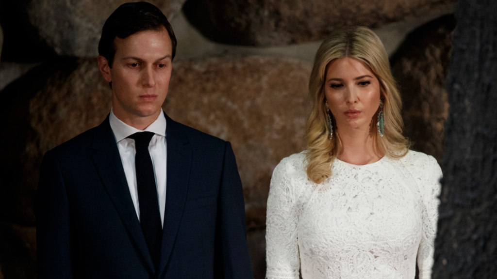 Mr Kushner is married to the president's daughter, Ivanka Trump.