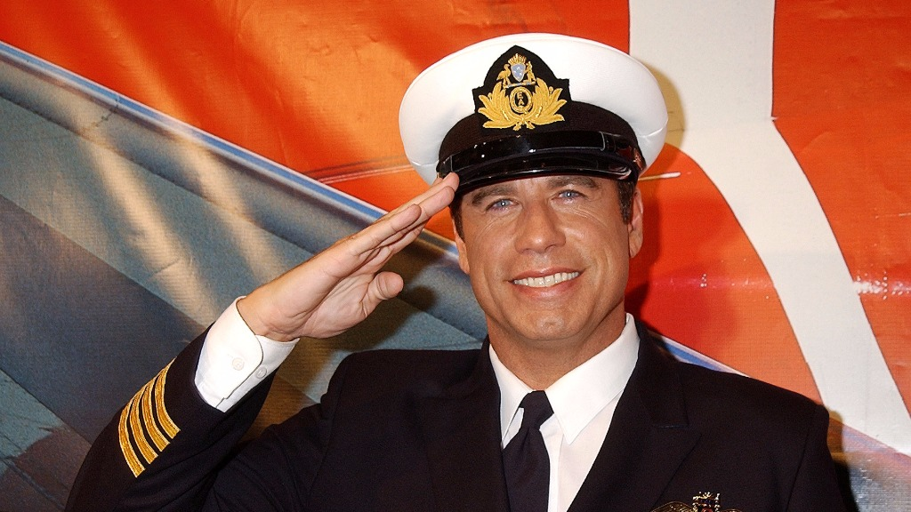 Travolta is a spokesman for Qantas and is known for his love of aviation. (Getty)