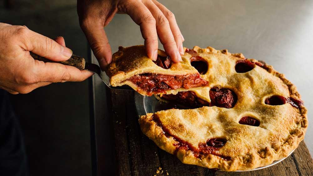 The Pie Shop, strawberry balsamic pie